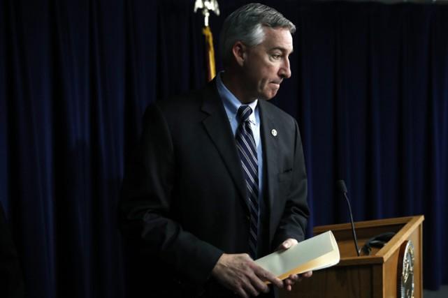 Les avocatsreprochent au nouveau procureur de la Pennsylvanie,... (PHOTO AP)