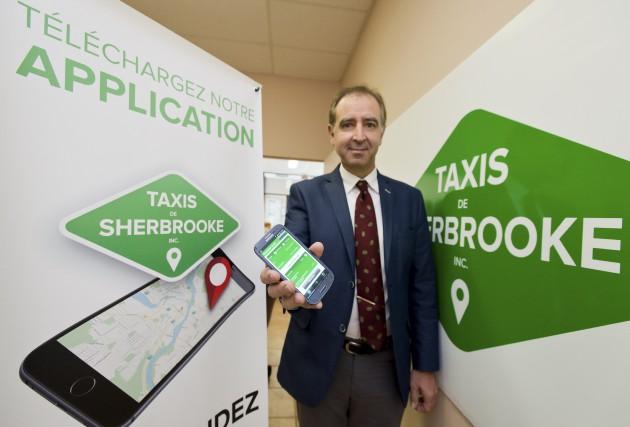 Taxis de Sherbrooke lance une nouvelle application qui... (Spectre, Jessica Garneau)