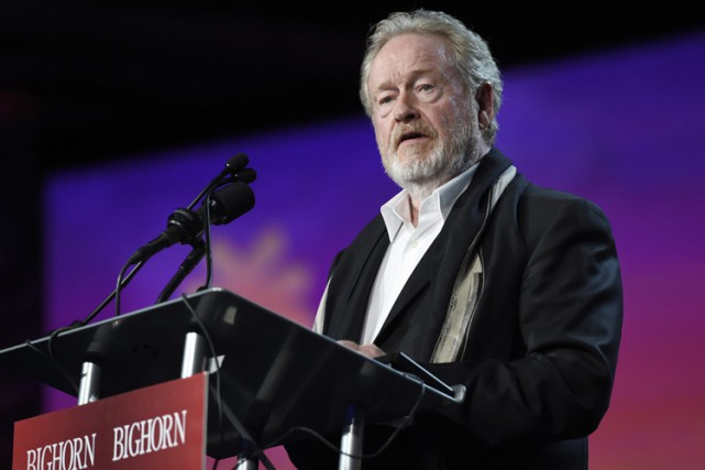 Agé de 78 ans, Ridley Scott n'a encore... (PHOTO ARCHIVES AFP)