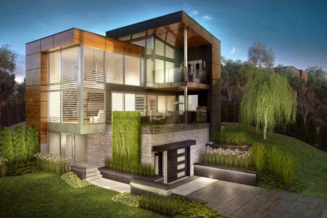La Maison Tanguay a toujours été conçue par... (Image Graph Synergie)