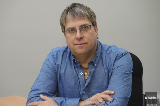 Jacques Viens, maire de Saint-Paul-d'Abbotsford et patron de... (Julie Catudal, La Voix de l'Est)