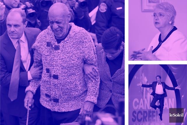 Les avocats de Cosby tentent de faire annuler les accusations (Infographie Le Soleil)