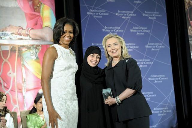 Arrêtée mardi en Arabie saoudite, la militante des... (PHOTO FOURNIE PAR LE DÉPARTEMENT D'ÉTAT DES ÉTATS-UNIS)