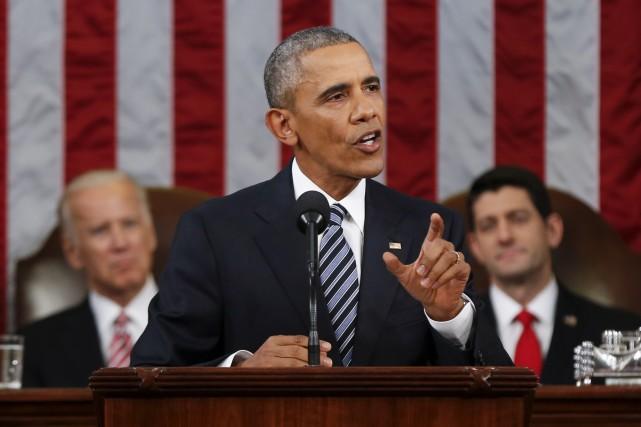 Le président américain, Barack Obama, a livré son... (AP, Evan Vucci)