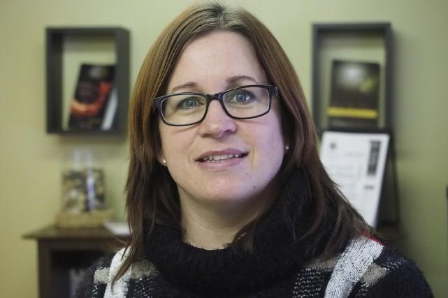La directrice d'Oasis Santé Mentale Granby et région,... (Photo Alain Dion)