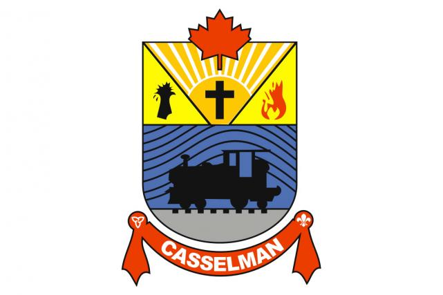 Le logo actuel de Casselman...