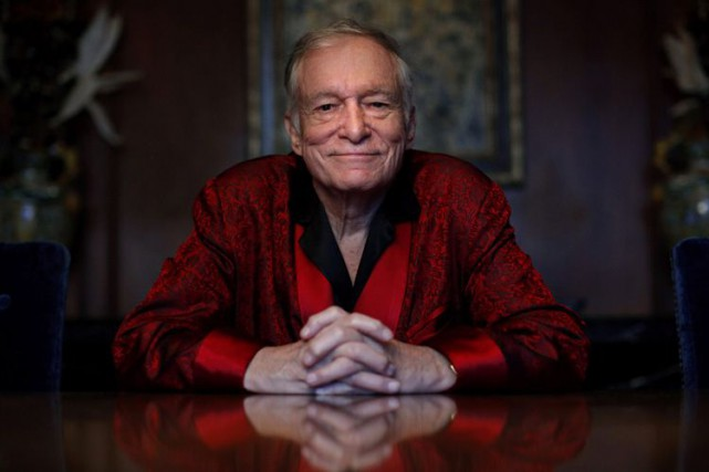 Hugh Hefner... (Archives AP)