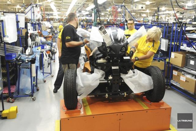 Le manufacturier BRP procédera à la mise à... (Archives, La Tribune)