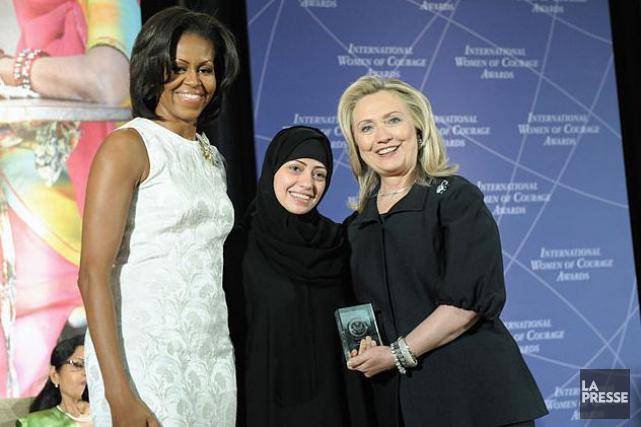 Arrêtée mardi en Arabie saoudite, la militante des... (Archives)