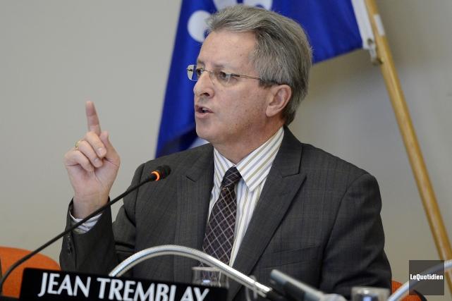 Le maire de Saguenay, Jean Tremblay, témoignera devant... ((Archives Le Quotidien))