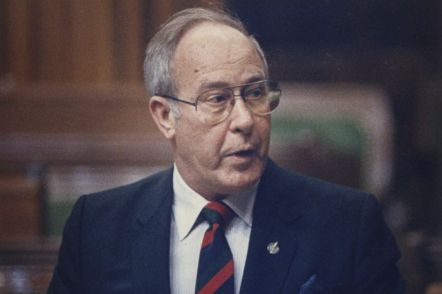 Robert Coates en 1988.... (Photothèque La Presse Canadienne, Chuck Mitchell)