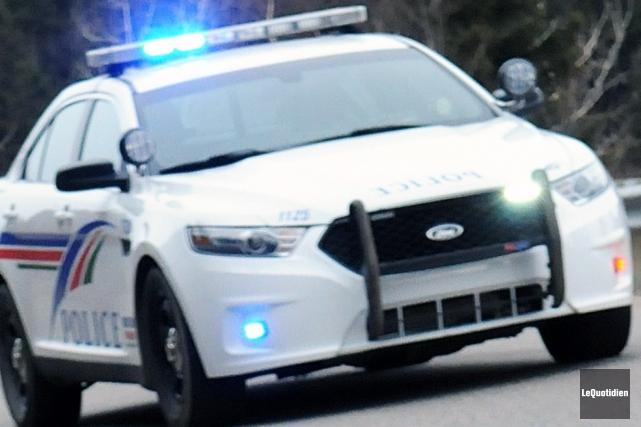 Les policiers de Saguenay ont mis la main... ((Archives Le Quotidien))
