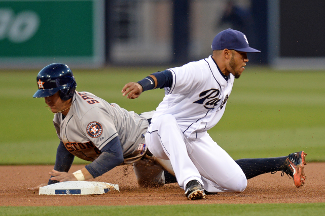 Les Padres de San Diego et les Astros... (Photo Jake Roth, archives USA Today)