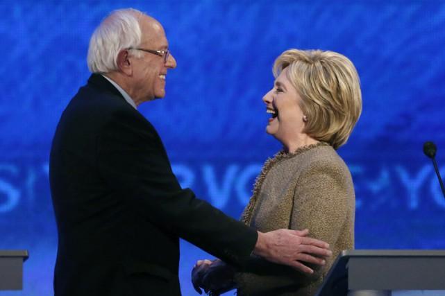 La force de Bernie Sanders, c'est son discours... (PHOTO AP)