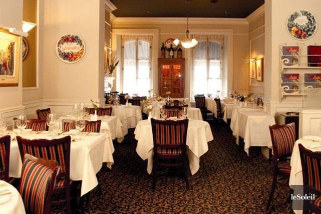 Le restaurant La Crémaillère... (Photothèque Le Soleil)