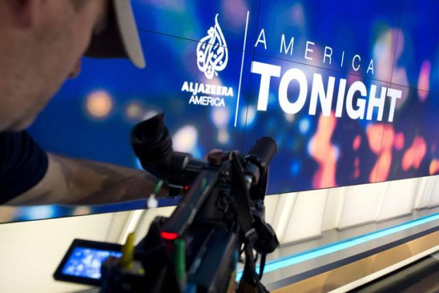 Al-Jazeera America promettait de bousculer l'information continue à... (PHOTO AFP)