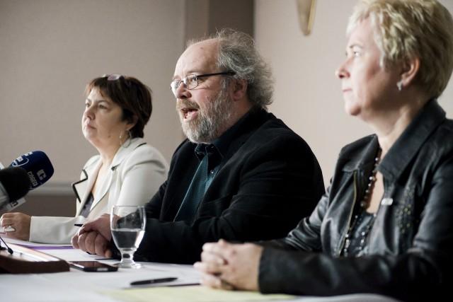 Le président de la FSSS-CSN, Jeff Begley, a... (Spectre, Jessica Garneau)