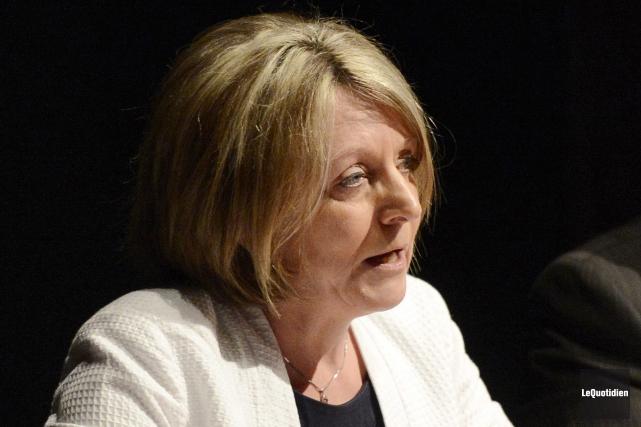 La conseillère Christine Boivin est poursuivie pour 425... (Archives Le Quotidien)
