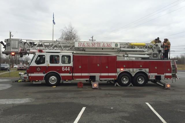 Le service des incendies de la Ville de... (photo fournie par la Ville de Farnham)