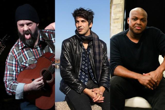 Les talents franco-ontariens Stef Paquette, Mehdi Cayenne et... (Infographie LeDroit)