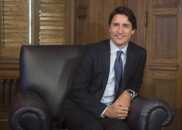 Mercredi, le premier ministre canadien, Justin Trudeau, a... (La Presse Canadienne, Adrian Wyld)