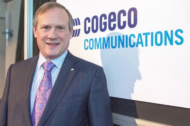 Le pdg de Cogeco, Louis Audet, a profité... (La Presse Canadienne, Ryan Remiorz)