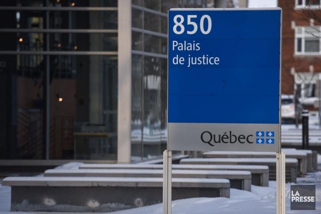 Un individu de 22 ans, Miguel Brassard, doit faire face à la justice pour avoir... (François Gervais)