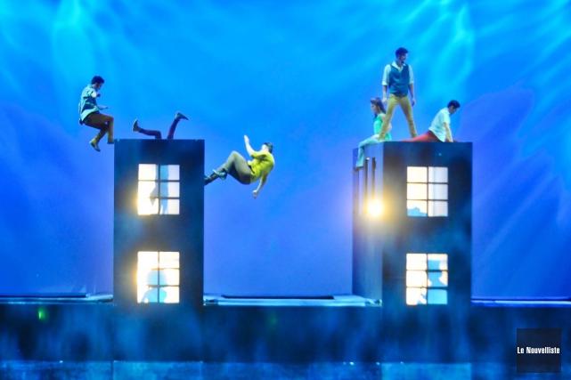Le Cirque du Soleil, racheté l'an dernier par l'Américain TPG, traverse des... (Archives, Le Nouvelliste)