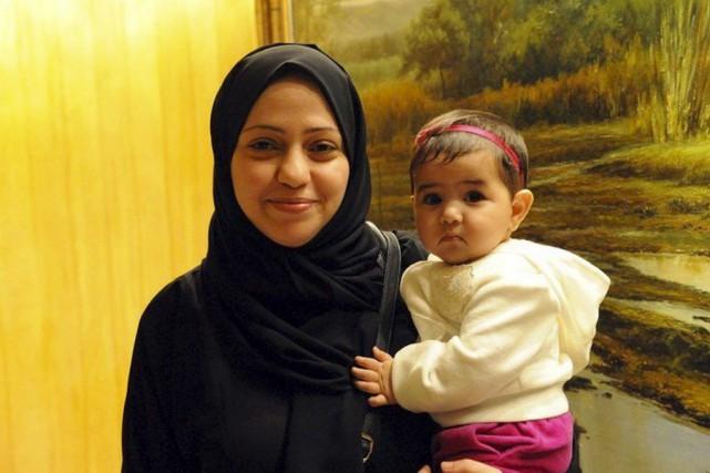 Samar Badawi a été détenue à la prison... (Twitter, @amnestyonline)