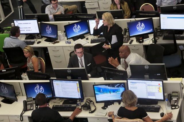 Al-Jazeera American'est jamais parvenue à trouver son public... (AP, Bebeto Matthews)