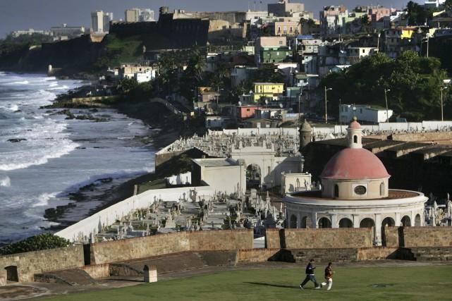 L'île de Porto Rico possède actuellement un statut... (AP, Brennan Linsley)
