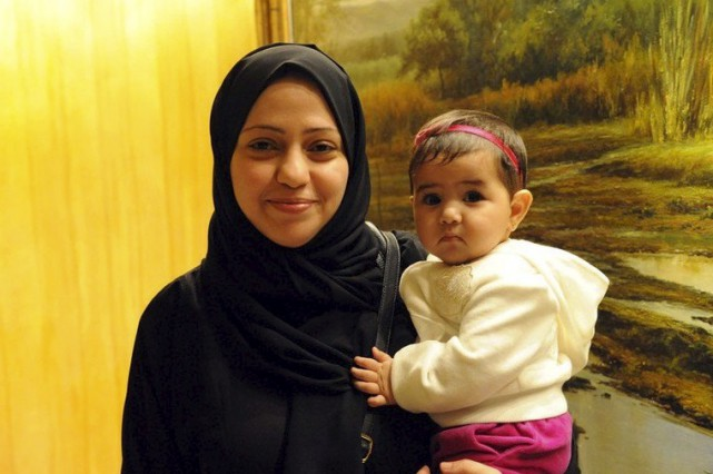Samar Badawi, la soeur du blogueur Raif Badawi,... (Photo Amnistie internationale)