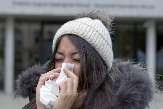 Le CISSSO a répertorié deux cas de grippe... (123RF)