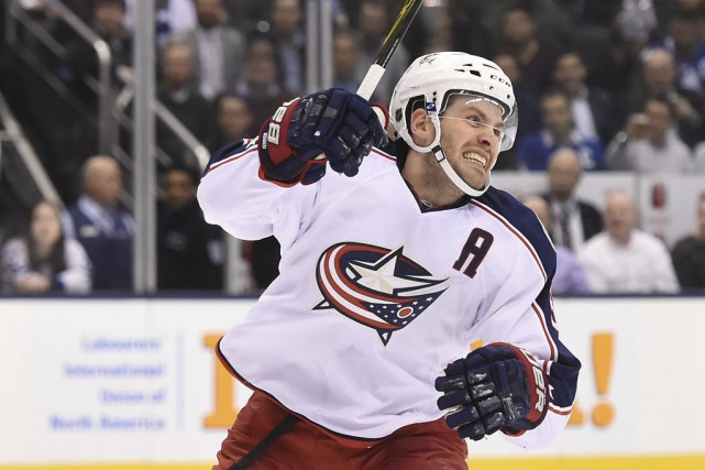 Deux Scandinaves de 21 ans ont aidé les Blue Jackets de Columbus à l'emporter... (Photo USA Today Sports)