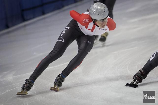 Marie-Ève Drolet est de retour à la compétition... (La Presse, Ivanoh Demers)