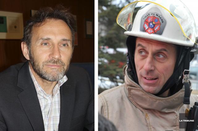 Les deux cadres visés sont Armand Comeau, directeur... (Archives, La Tribune)
