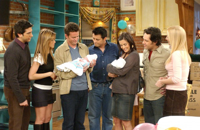 David Schwimmer, Jennifer Aniston, Matthew Perry, Matt LeBlanc,... (PHOTO FOURNIE PAR WARNER BROS.)