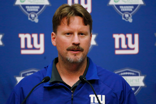 Ben McAdoo... (Photo Julio Cortez, archives AP)