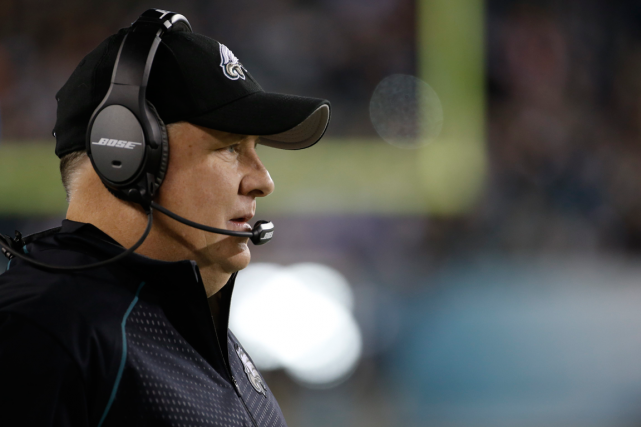 Chip Kelly a été congédié par les Eagles de... (Photo Michael Perez, archives AP)