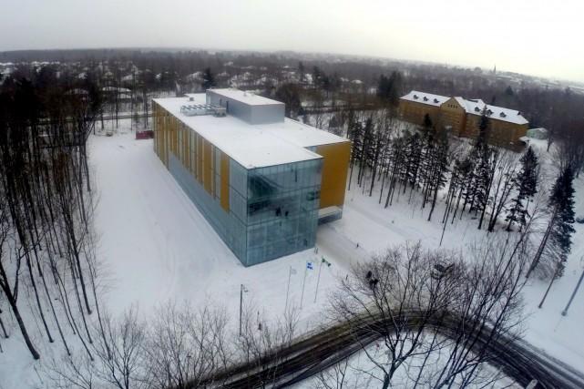 Le nouveau campus de l'UQTR à Drummondville est... (Photo collaboration spéciale Éric Beaupré)