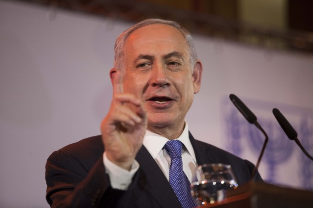 Le premier ministre israélien Benyamin Nétayahou... (Photo Dan Balilty, AP)