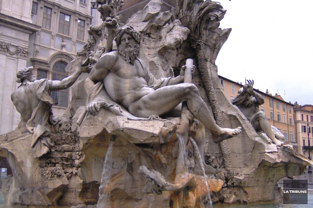 Mes clichés de la Piazza Navona ne sont... (La Tribune, Jonathan Custeau)