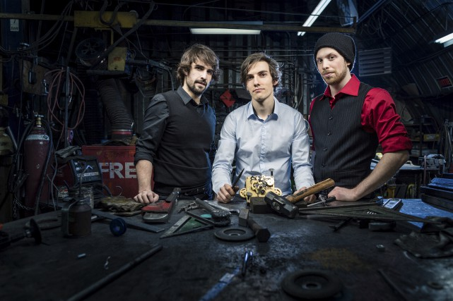 Le trio de jazz de Québec 5 for... (Dylan Stewart Page)