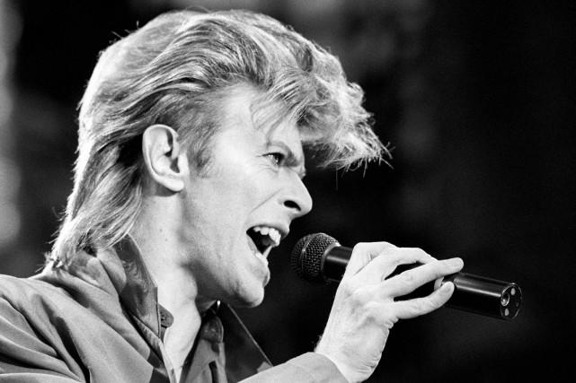 David Bowie, ici en juin 1987.... (Archives AP)