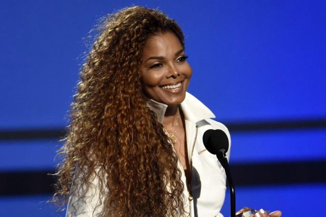Janet Jackson a annoncé la veille de Noël... (Archives AP)