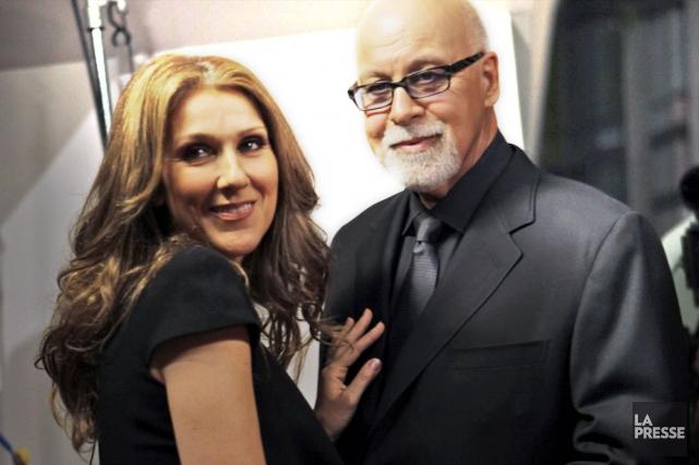 Le couple Céline Dion-René Angélil... (Photo: AP)
