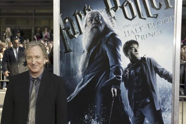 Alan Rickman joué le rôle du professeur Rogue... (Don Emmert, Archives AFP)