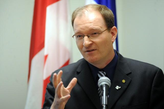 Simon Charlebois, directeur général de la SADC Centre-de-la-Mauricie.... (Stéphane Lessard)