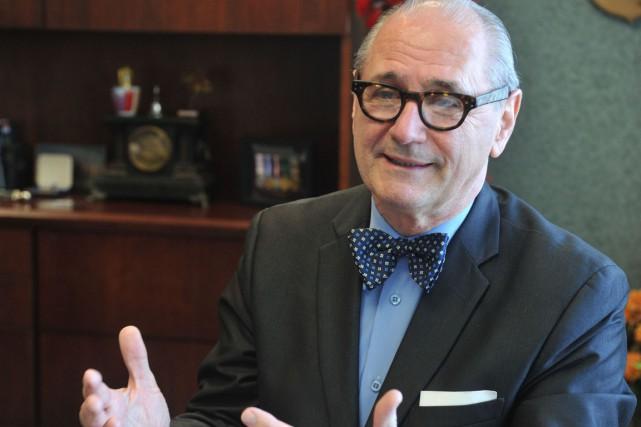 Maurice Richard, président-directeur général de la Société du... (Stéphane Lessard)