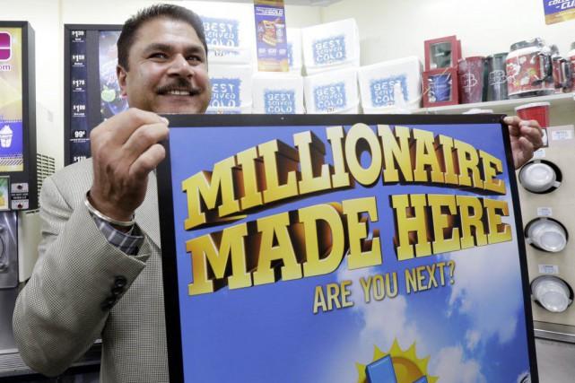 Le billet gagnant en Californie a été vendu... (Nick Ut, AP)